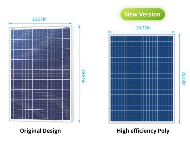 NEWPOWA-100-Watt-Solar-Panel